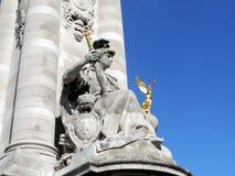 Pont Alexandre III Stock Afbeeldingen