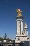 Pont Alexandre III Stock Fotografie