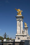 Pont Alexandre III stockfotografie