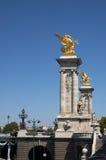 Pont Alexandre III lizenzfreie stockbilder