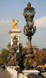 Pont Alexandre III. Paris, France Royalty Free Stock Image