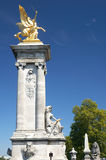 Pont Alexandre III lizenzfreies stockfoto