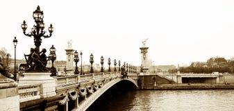 Pont Alexandre III Stock Images