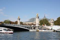 pont alexandre III стоковые фото