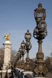 Pont Alexandre III Bridge; Paris Stock Photography