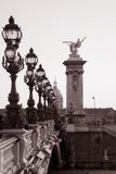Pont Alexandre III Bridge, Paris Stock Image