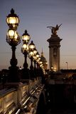 Pont Alexandre III Bridge, Paris Royalty Free Stock Images