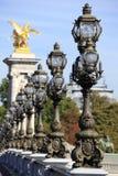 Pont Alexandre III bridge paris Stock Photography