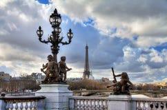 Pont Alexandre III Eiffel Royalty Free Stock Image