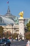 Pont Alexandre III and Grand Palais, Paris, France Stock Photos