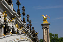 Pont Alexandre III, Paris Royalty Free Stock Images