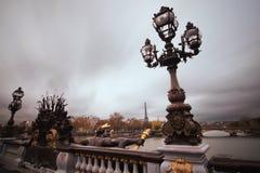 Pont Alexandre III in Paris lizenzfreies stockfoto