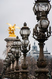 The Pont Alexandre III Stock Photography