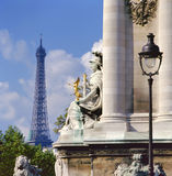 Pont Alexandre III ,Paris Royalty Free Stock Photo
