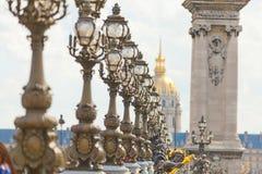 Pont Alexandre III, Paris Royalty Free Stock Images