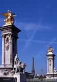 Pont Alexandre III, Paris, France. Stock Photo