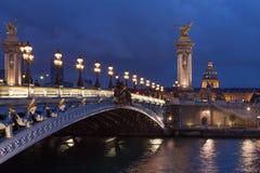 Pont Alexandre Stock Image