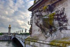 Pont Alexandre III - Paris, France Royalty Free Stock Photo