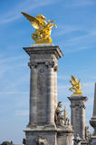Pont Alexandre III, Paris, France Royalty Free Stock Image