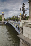 The Pont Alexandre III Stock Photo