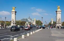 The Pont Alexandre III, Paris, France Royalty Free Stock Photo