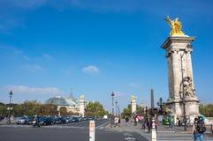 The Pont Alexandre III, Paris, France Stock Photos