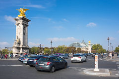 The Pont Alexandre III, Paris, France Stock Photography