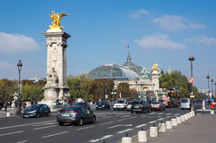 The Pont Alexandre III, Paris, France Royalty Free Stock Images