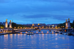 Pont Alexandre III in Paris Royalty Free Stock Image
