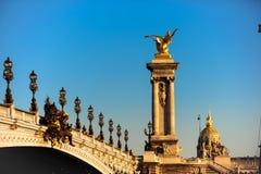 Pont Alexandre III Stock Image