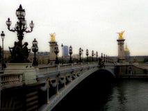 Pont Alexandre stock foto's