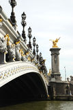 Pont Alexandre, Paris Stockfoto