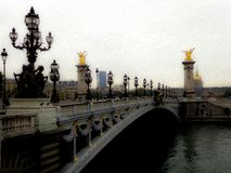 Pont Alexandre stock photos