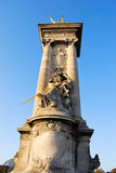 Pont Alexandre Statue Royalty Free Stock Photo