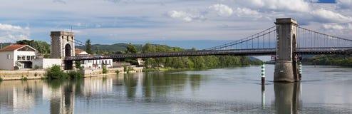 Pont δ ` Andance στο Ardeche, Γαλλία Στοκ φωτογραφία με δικαίωμα ελεύθερης χρήσης
