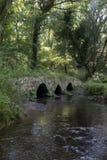 Pont antique de cheval de bât de Gallois photographie stock