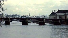 Pont archivistique de Westminster à Londres clips vidéos