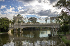 Pont Argentine de roses Photo libre de droits