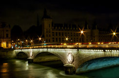 Pont au Change Bridge Royalty Free Stock Images