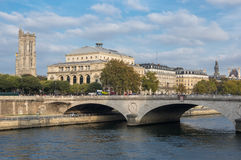 Pont au Change in Paris Royalty Free Stock Images