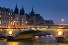 Pont au change, Paris, France Stock Photos