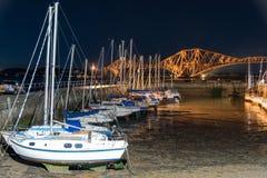 Pont au-dessus de l'océan en Ecosse Photographie stock libre de droits