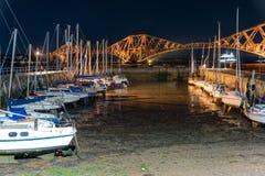Pont au-dessus de l'océan en Ecosse Photos stock