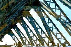 Pont au-dessus de Moscou image stock