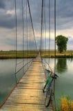 Pont au-dessus de rivière de Maritsa Photos libres de droits