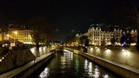 Pont au kopii widok Rzeczny wonton zdjęcia royalty free