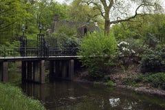 Pont au vieux château Photographie stock