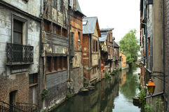 Pont-Audemer (Eure, Normany, France) Royalty Free Stock Image