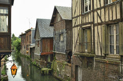 Pont-Audemer (Eure, Normany, France) Stock Photos