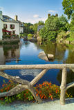 Pont aven in brittany. River of pont aven in brittany in summer Royalty Free Stock Photography